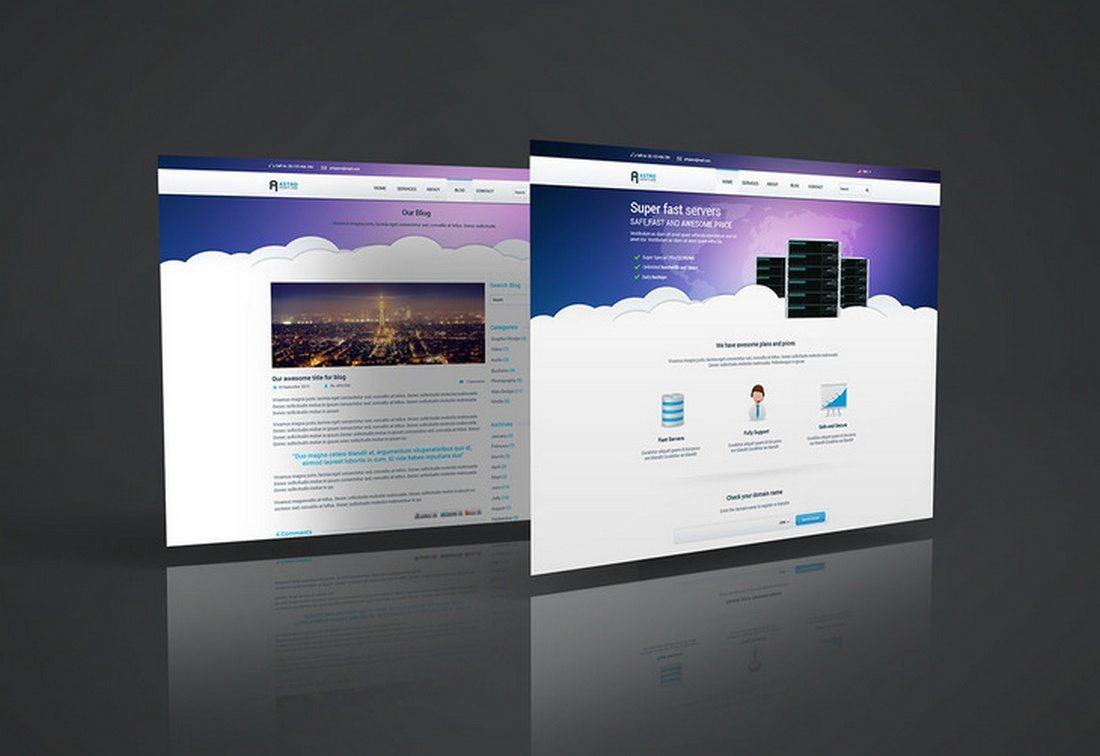 Download 30+ Awesome Free PSD Website Mockup Design | UTemplates