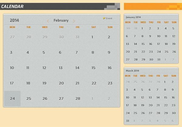 html_calendar_template
