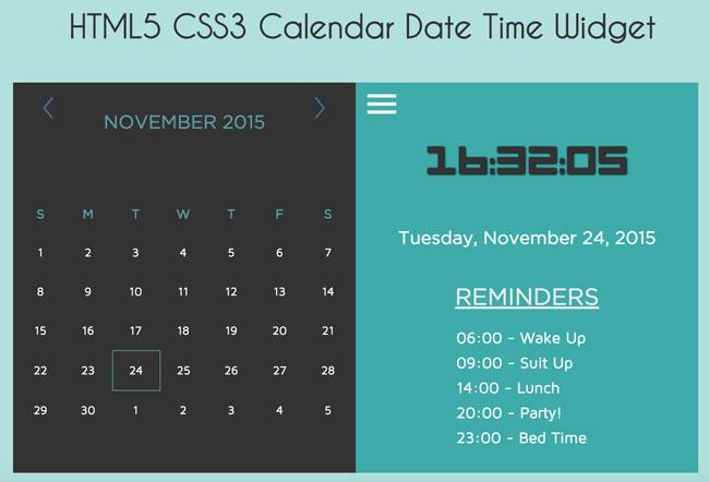 html5_css3_and_jquery_calendar_date_time_widget