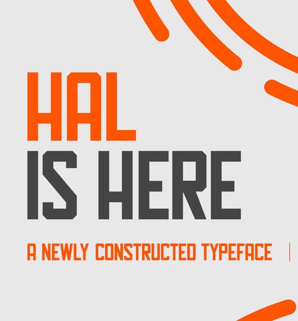 hal_minimalist_font