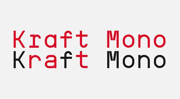 kraft_mono_font