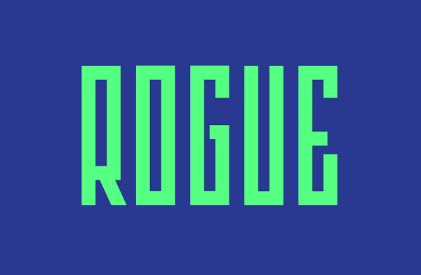 rogue_minimalist_font