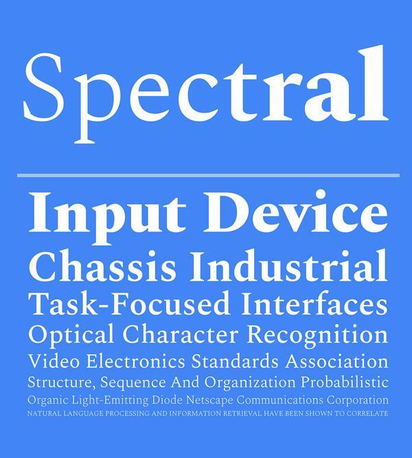spectral_font