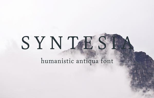 syntesia_font