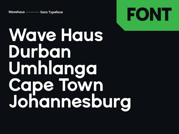 wavehaus_sans_font
