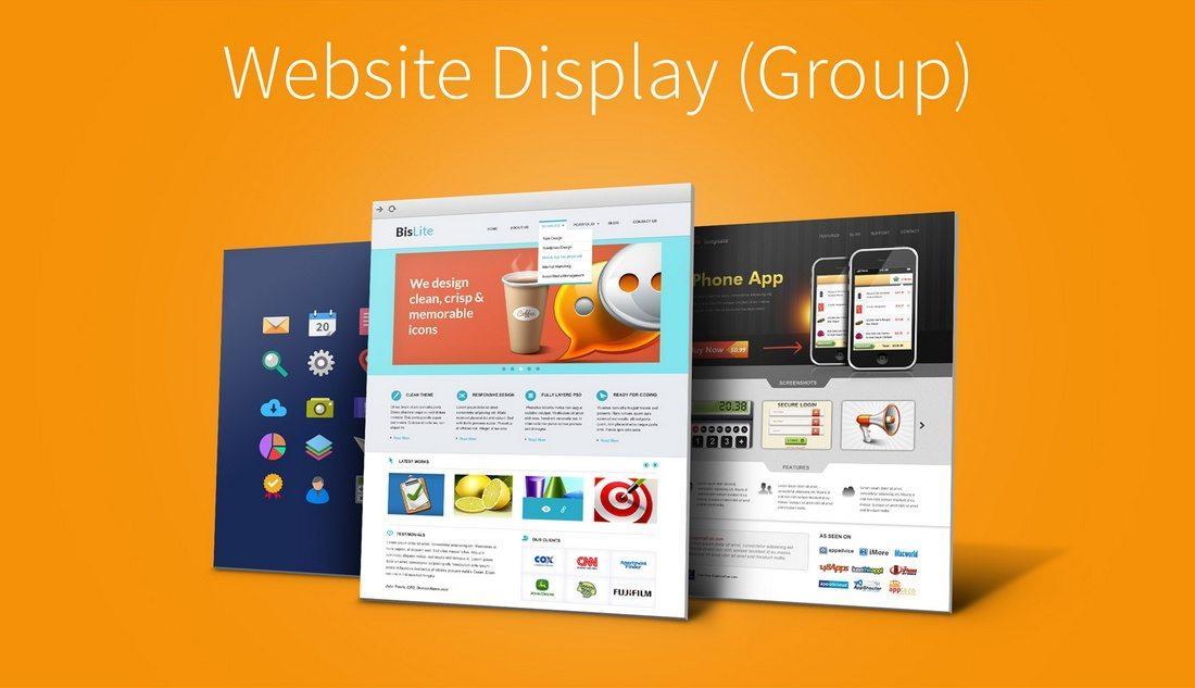 website_&_iphone_5_3d_display_mockups