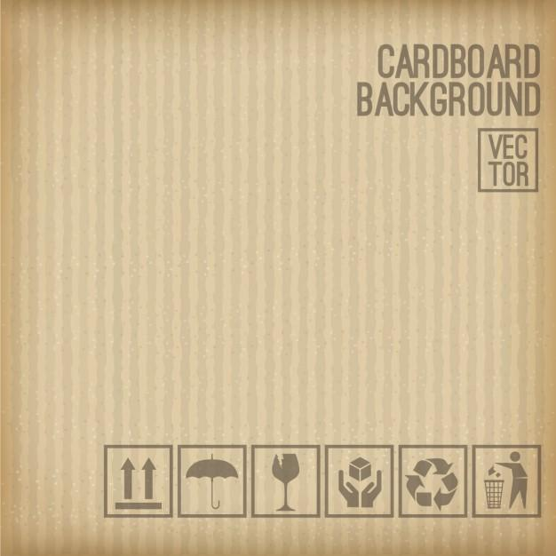 cardboard_background_set_of_cardboard_symbol