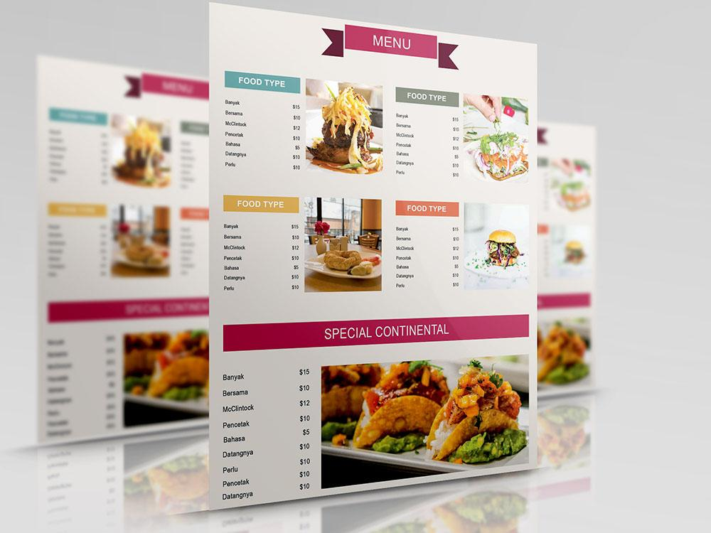 seafood_menu_template