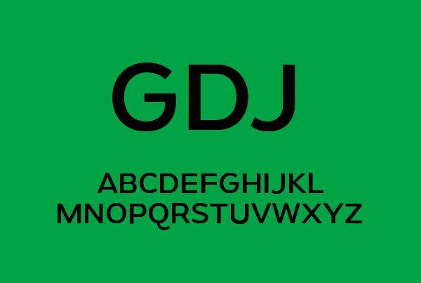 gymkhana_minimalist_font