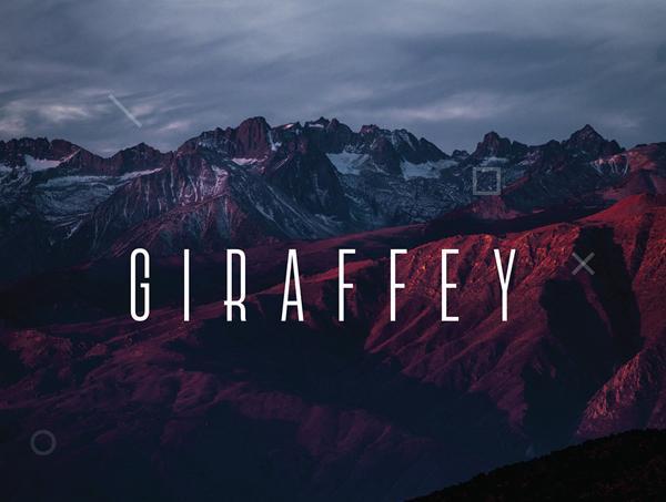 giraffey_font