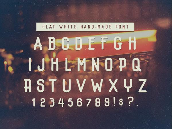 flatwhite_hipster_font