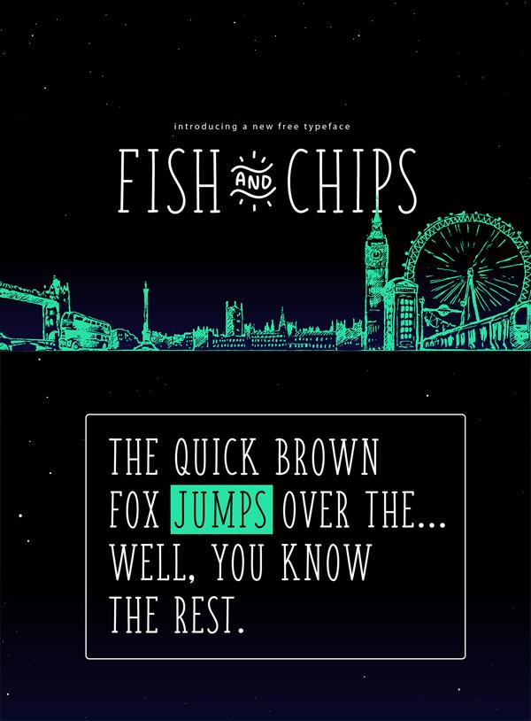 fish_&_chips_serif_and_handwritten_hipster_font