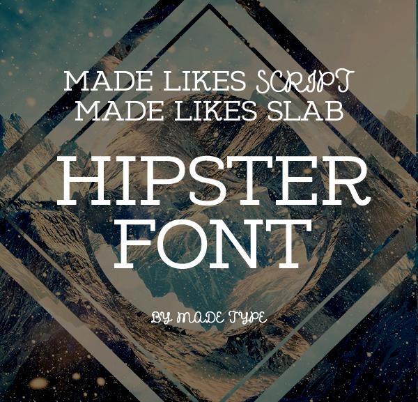 made_likes_script_hipster_font