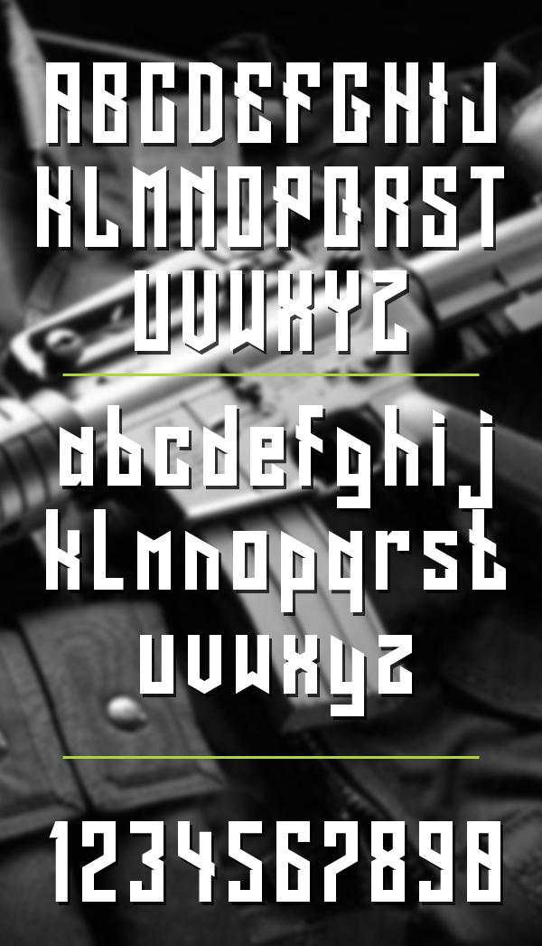 long_shot_hipster_font