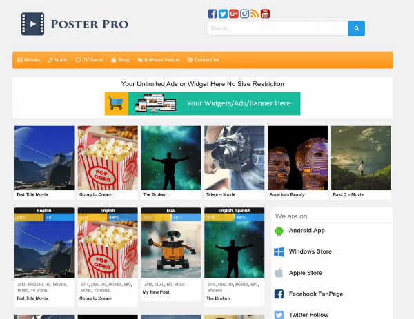 poster_wp_community_theme