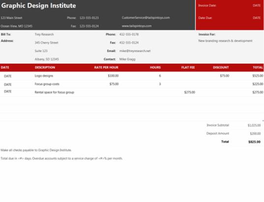 service_invoice_template
