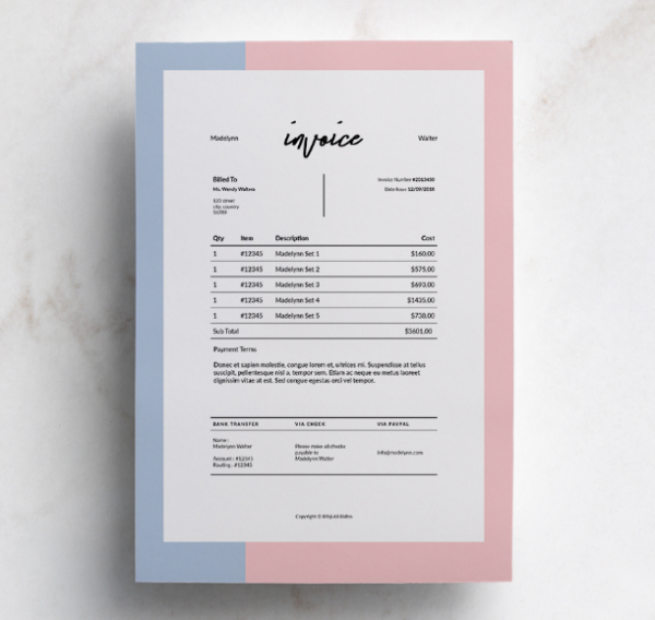 madelynn_free_invoice_template_idml_indt