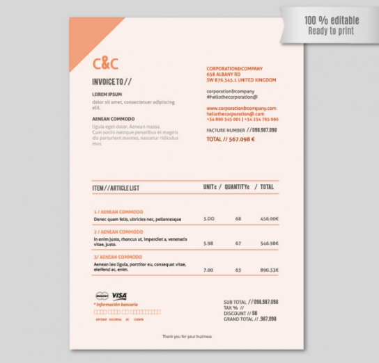 simple_orange_invoice_template