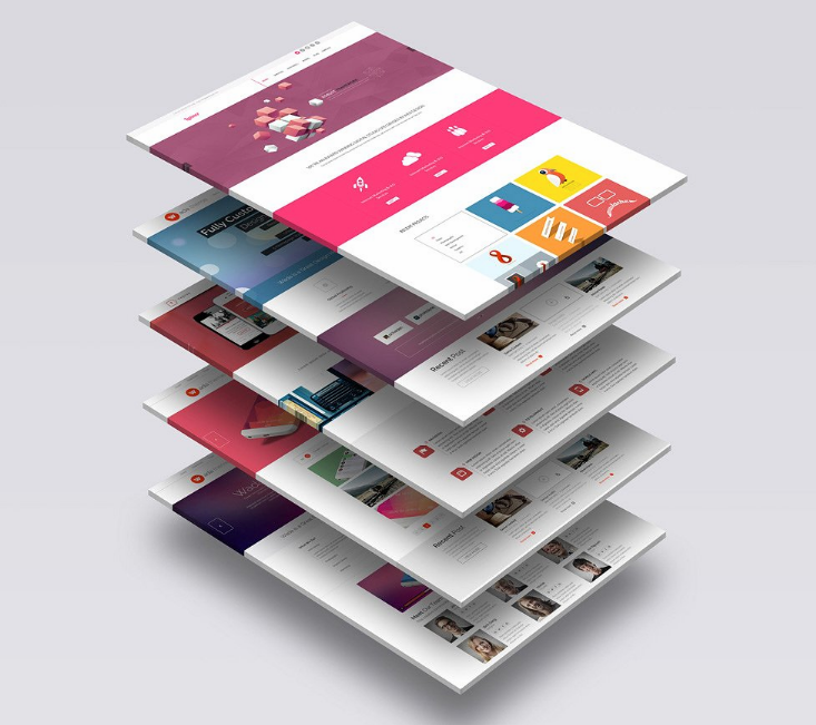 30 awesome free psd website mockup design utemplates