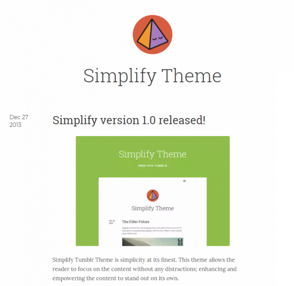 simplify_tumblr_theme