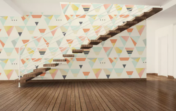art_stair_and_wall_mockup