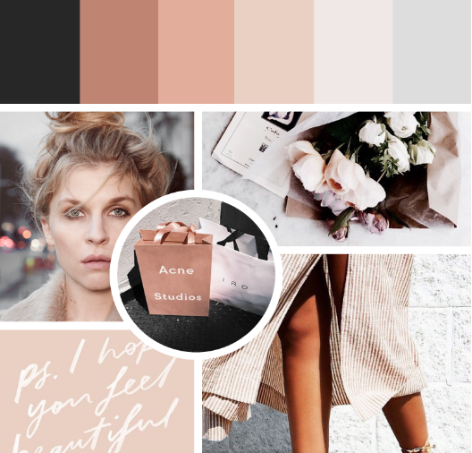 15 Adorable Fashion Powerpoint Templates: 15+ Nice Moodboard Templates & Design