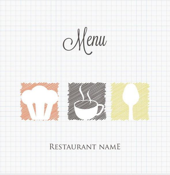 doodle_restaurant_menu_cover