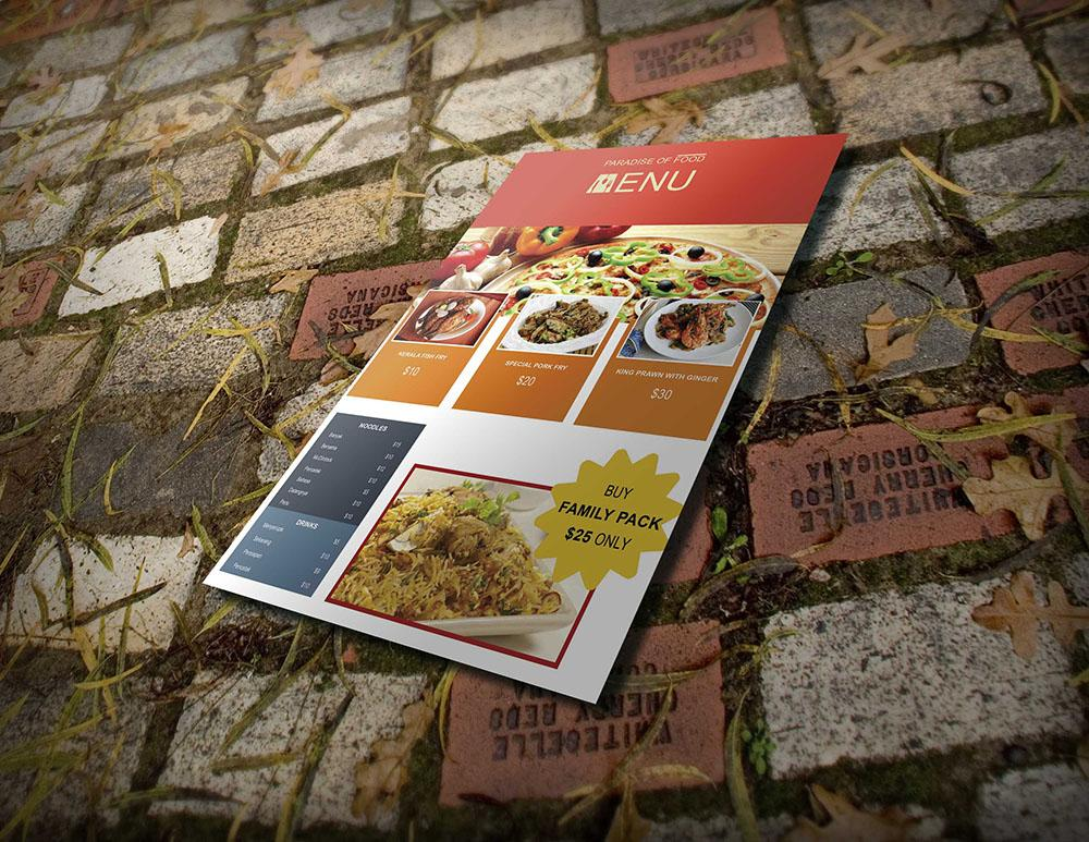 take-out_food menu_psd