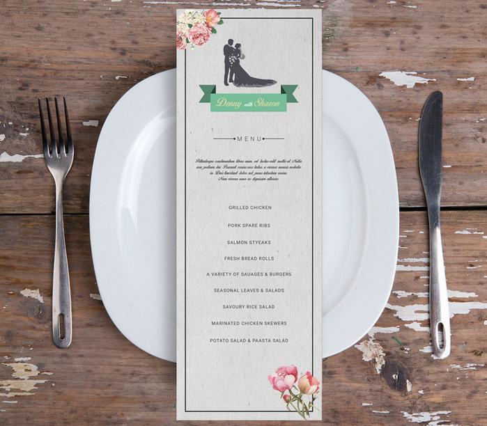 wedding_menu_flyer