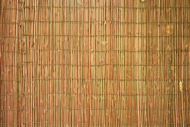 yellow_background_wicker_macro_pattern