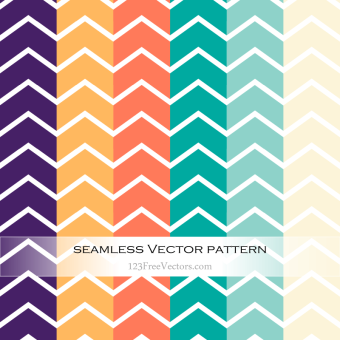 colorful_chevron_pattern_vector_illustration