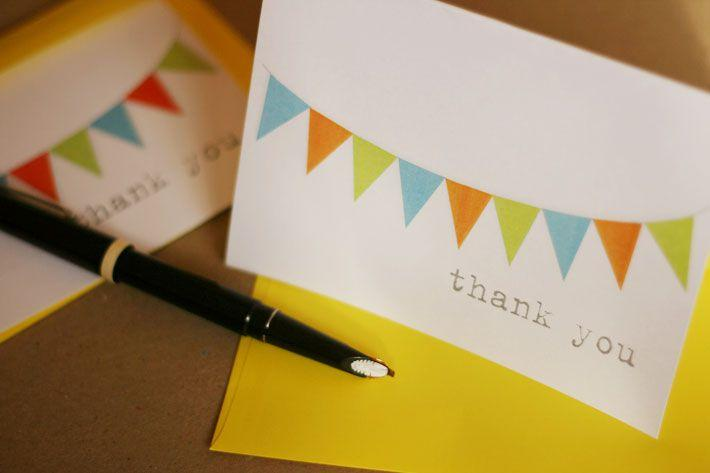 bunting_thank_you_card
