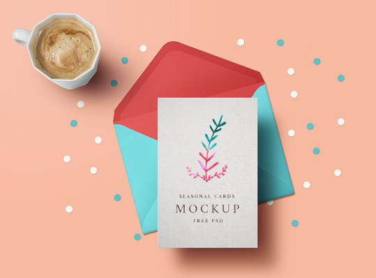 30 High Quality Psd Invitation Mockup Templates Free