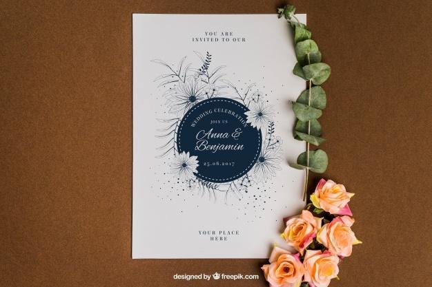 free_cute_floral_stationery_wedding_mockup