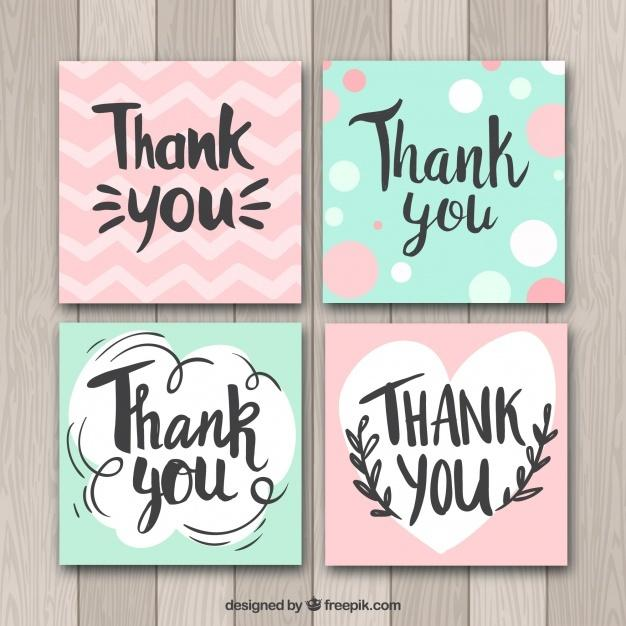 green_and_pink_thank_you_cards_collection