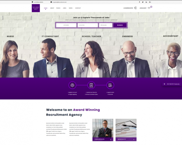 10  best job portal    board wordpress themes for 2018