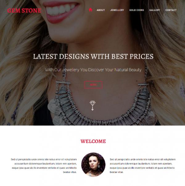 free_gemstone_jewelry_responsive_template