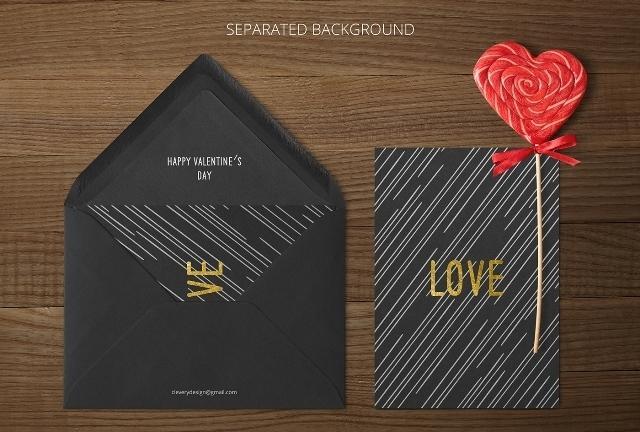 free_photorealistic_invitation_mockup_separated_background