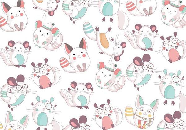 chinchilla_cute_pattern