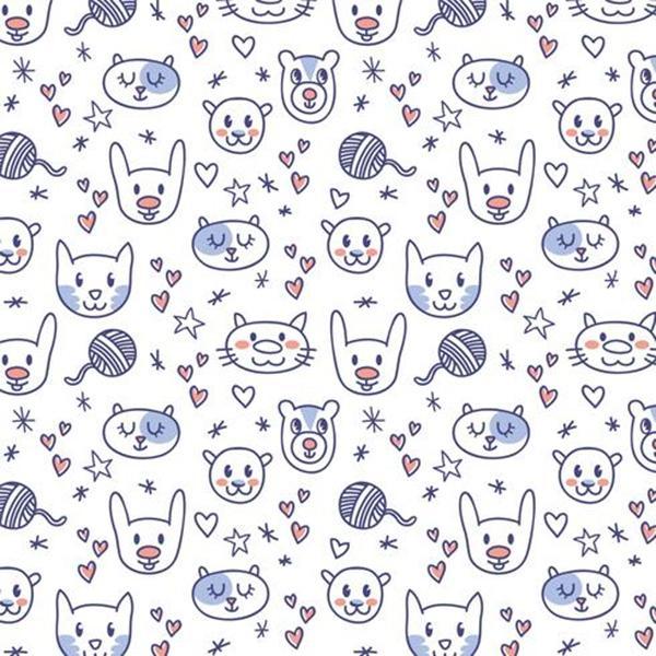 cute_animal_pattern_vectors