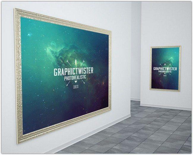 big_gold_poster_frame
