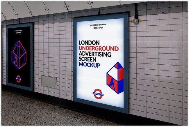 free_london_underground_advertising_screen_mockup