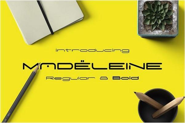 madeleine_font
