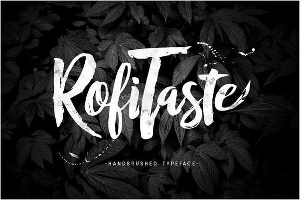 rofitaste_font