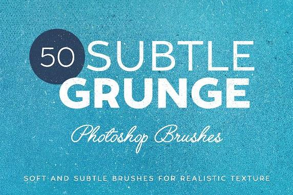 50_subtle_grunge_brushes