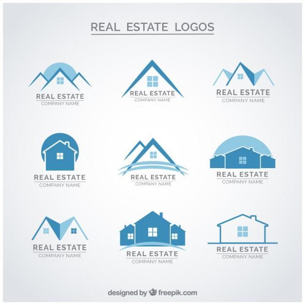 blue_real_estate_logos