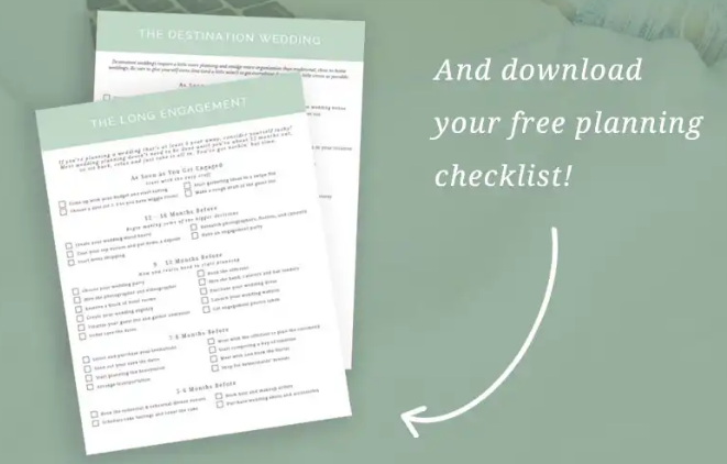 10 Beautiful Wedding Planning Checklist Templates [FREE] | UTemplates