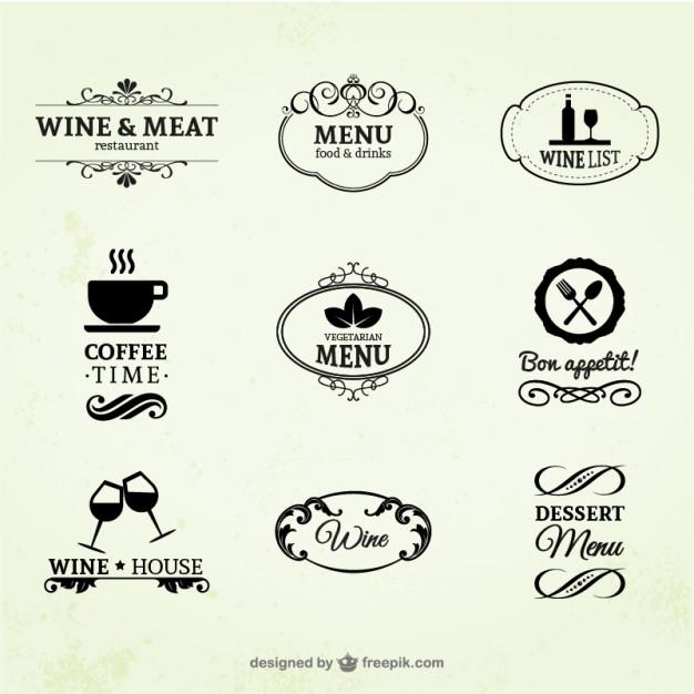 vintage_wine_restaurant_and_coffee_labels