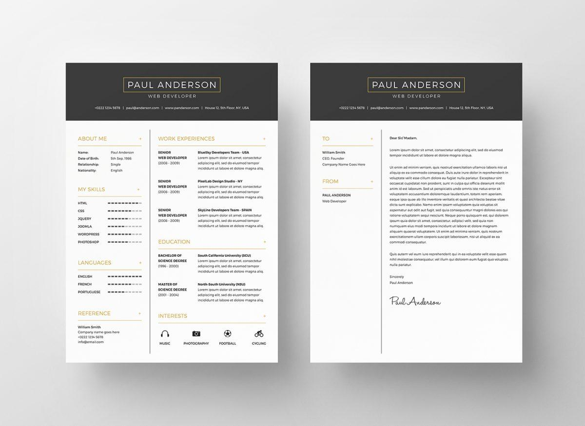 executive_black_and_gold_free_resume_template