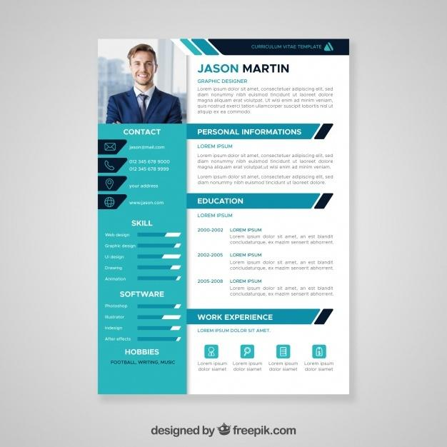 flat_professional_curriculum_template
